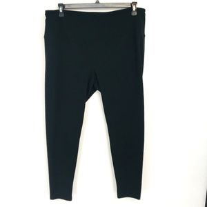 Style & Co Black Ankle Cropped Leggings